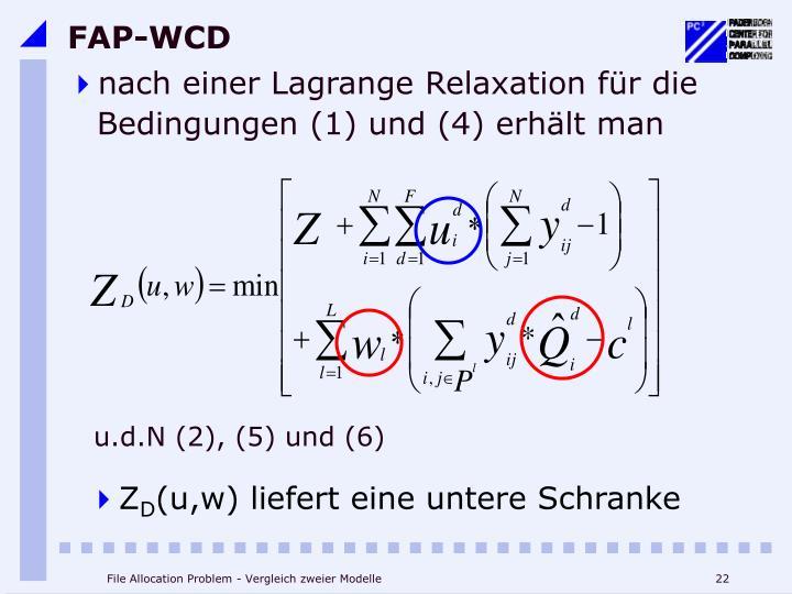 FAP-WCD