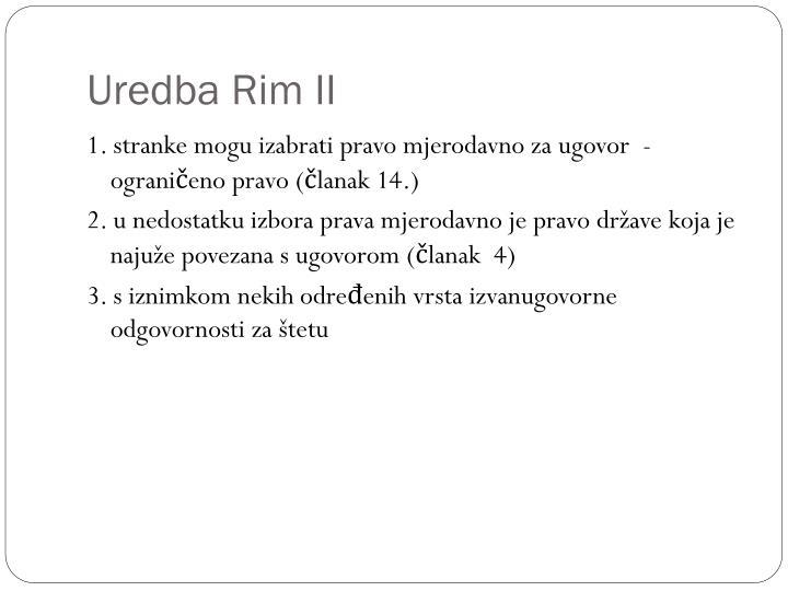 Uredba Rim