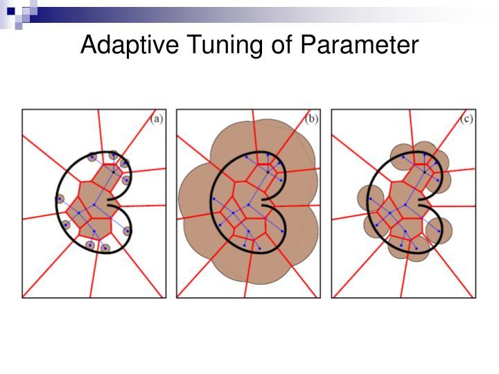 Adaptive Tuning of Parameter
