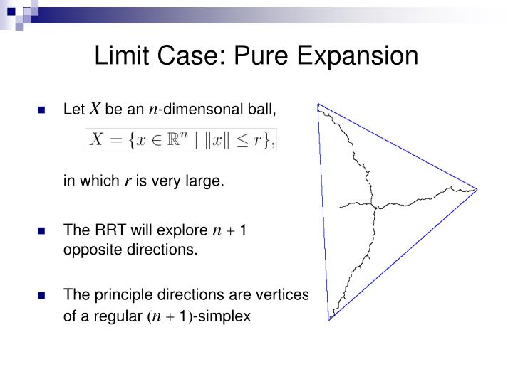 Limit Case: Pure Expansion