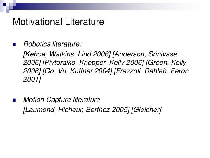 Motivational Literature