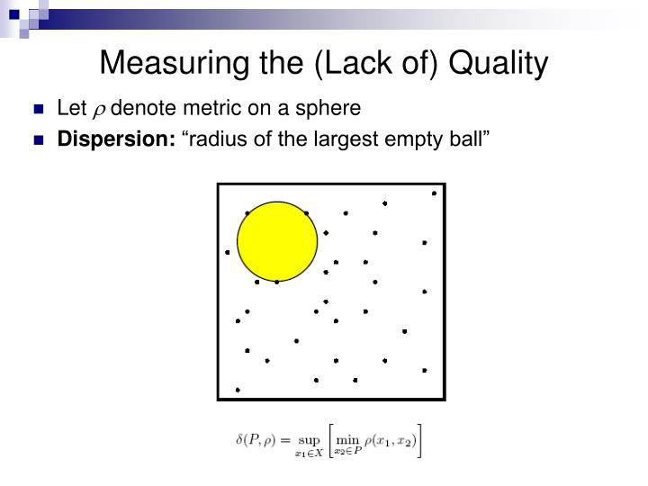 Measuring the (Lack of) Quality