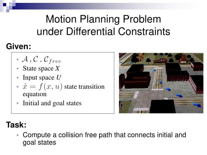 Motion Planning Problem