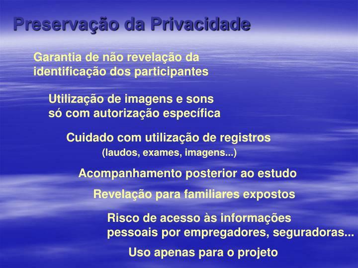 Preservação da Privacidade