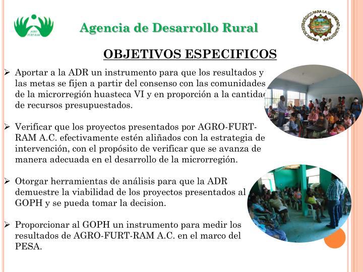 Agencia de Desarrollo Rural