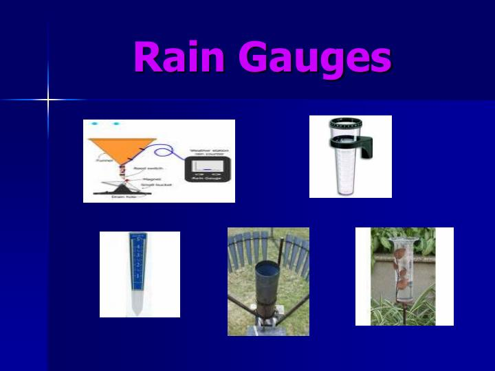 Rain Gauges