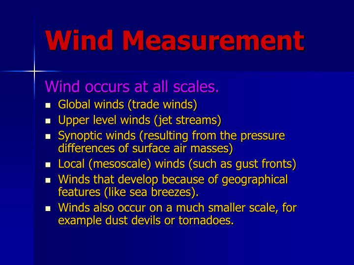 Wind Measurement