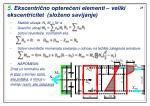 5 ekscentri no optere eni elementi veliki ekscentricitet slo eno savijanje1