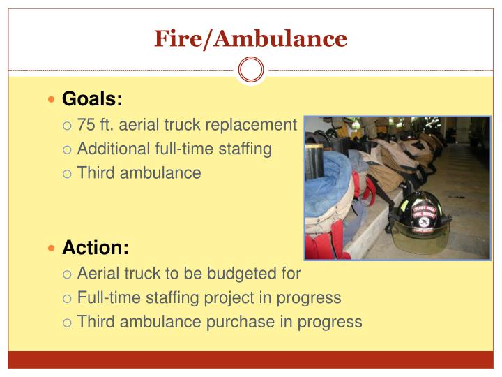 Fire/Ambulance