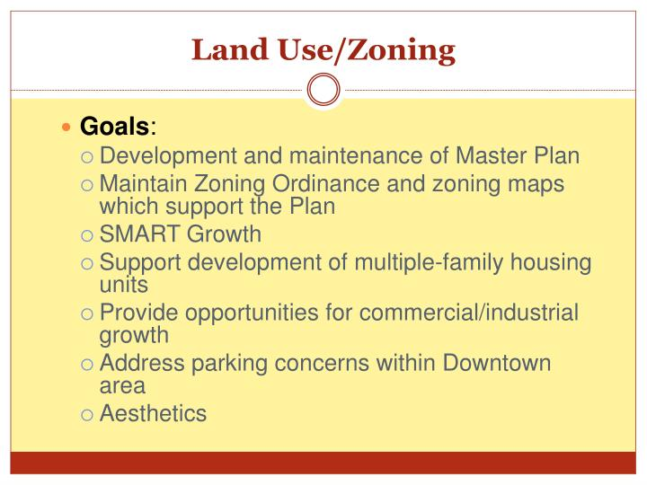 Land Use/Zoning