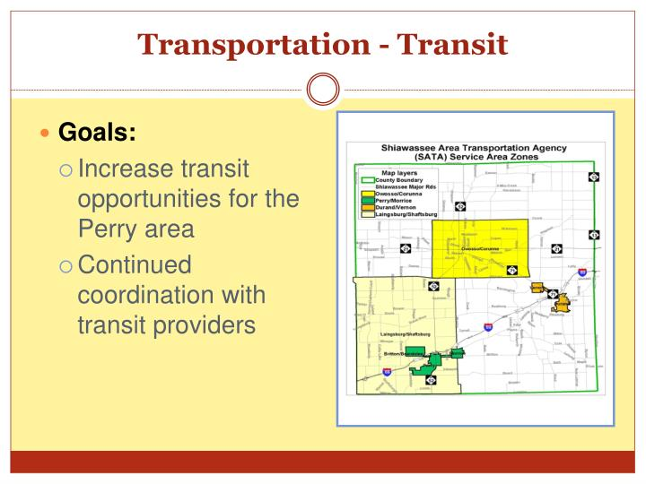 Transportation - Transit