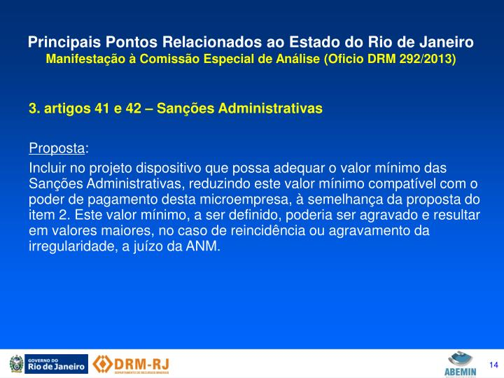 Principais Pontos Relacionados ao Estado do Rio de Janeiro