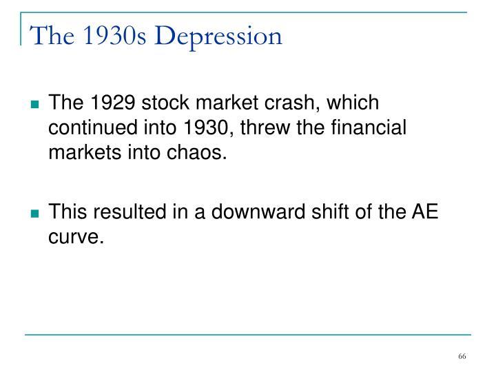 The 1930s Depression