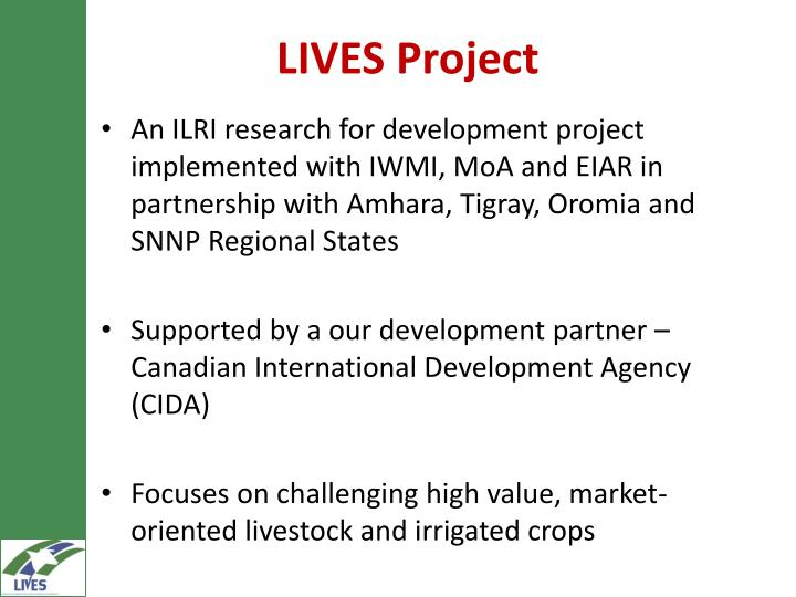 LIVES Project