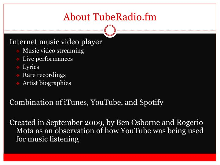 About tuberadio fm