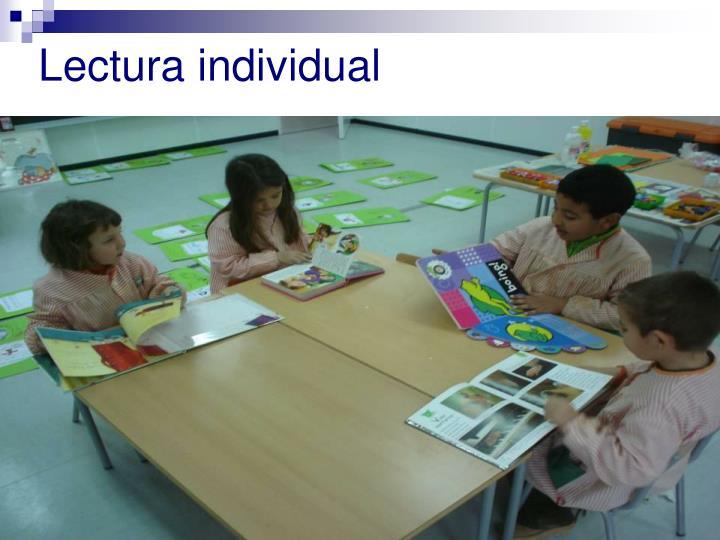 Lectura individual
