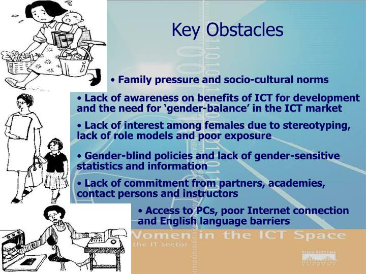 Key Obstacles