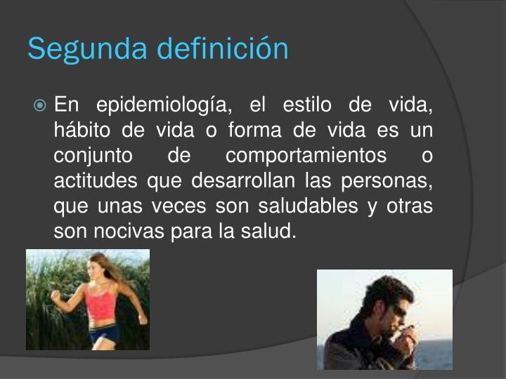 Segunda definición