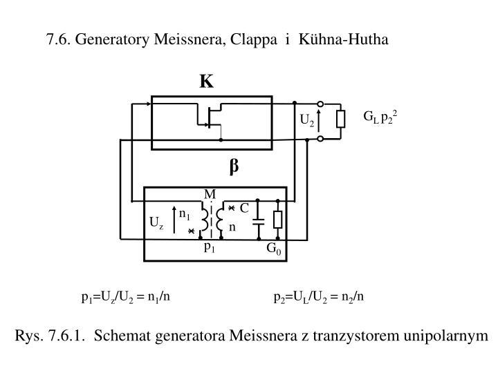 7.6. Generatory Meissnera, Clappa