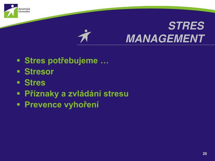 STRES MANAGEMENT