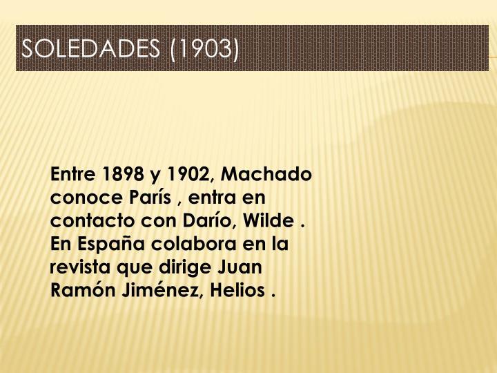 SOLEDADES (1903)
