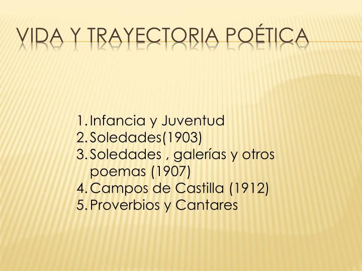 VIDA Y TRAYECTORIA POÉTICA
