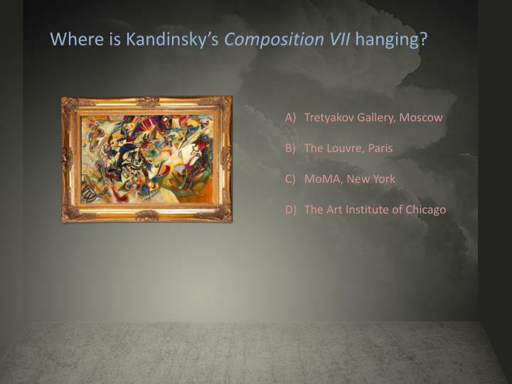 Where is Kandinsky's