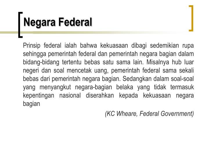 Negara Federal