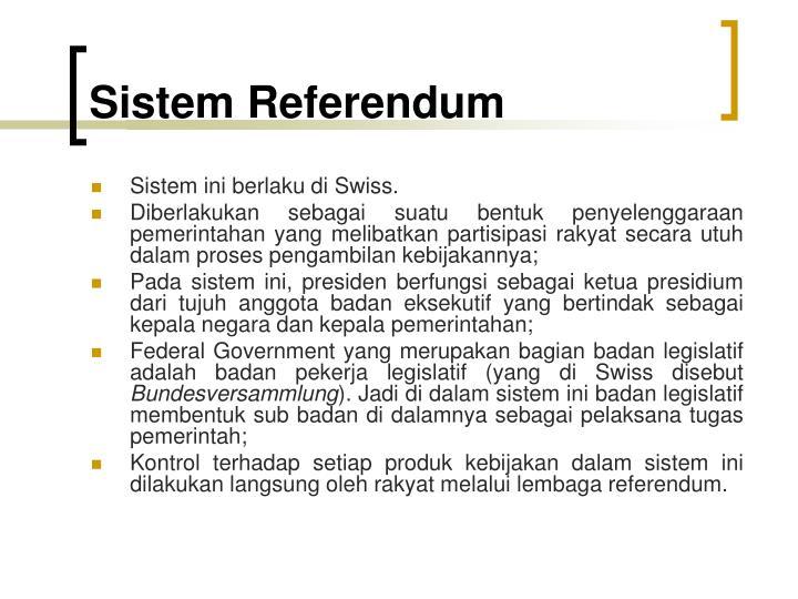 Sistem Referendum