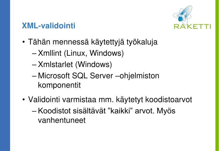 XML-validointi