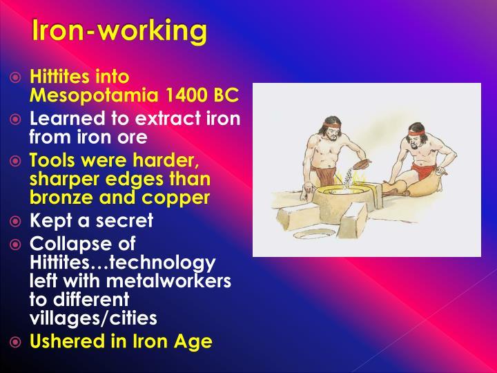 Iron-working