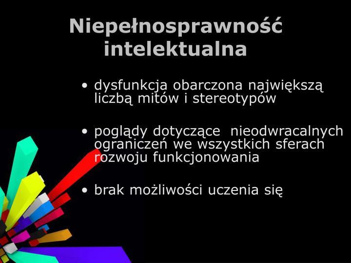 Niepełnosprawność intelektualna