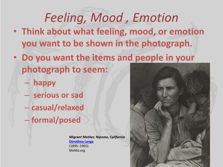 Feeling, Mood , Emotion