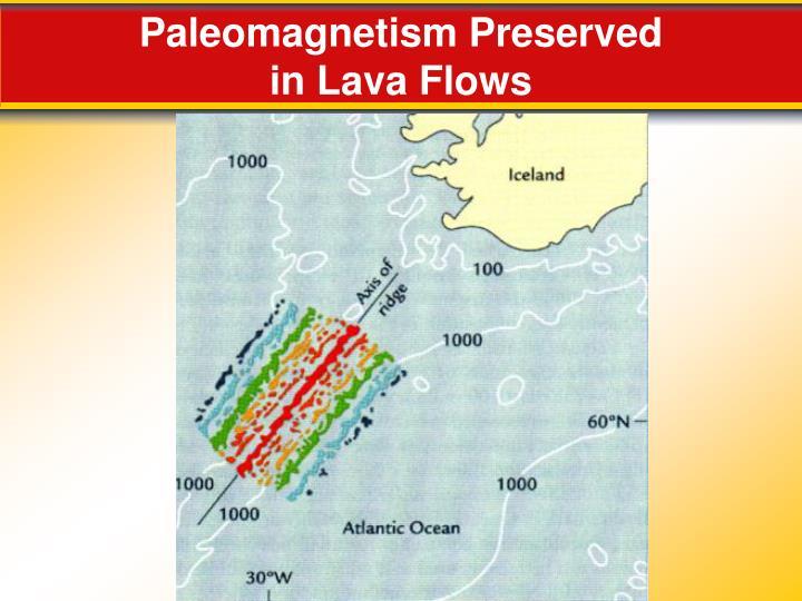 Paleomagnetism Preserved
