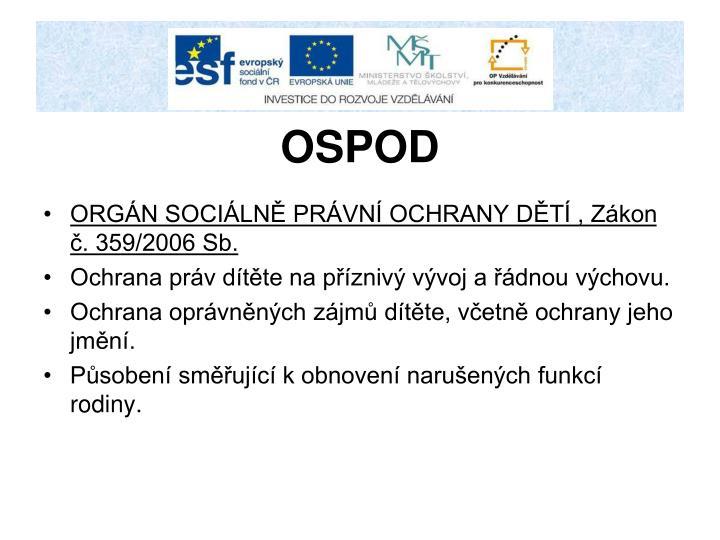 OSPOD