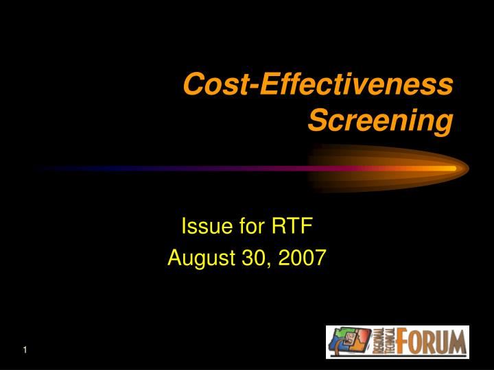 Issue for RTF