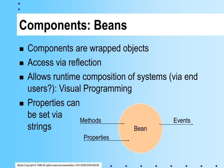 Components: Beans