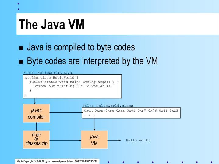 The Java VM