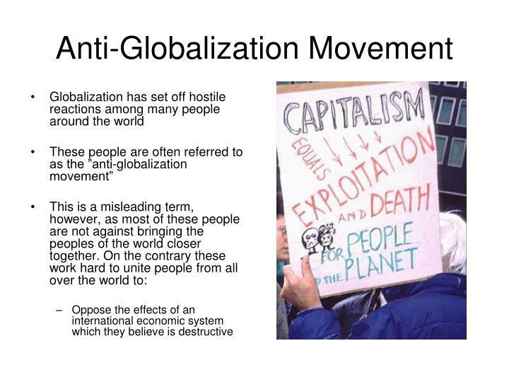 Anti-Globalization Movement