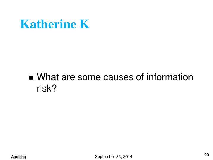 Katherine K
