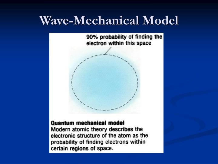 Wave-Mechanical Model
