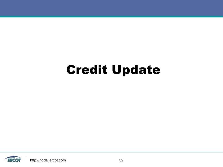 Credit Update
