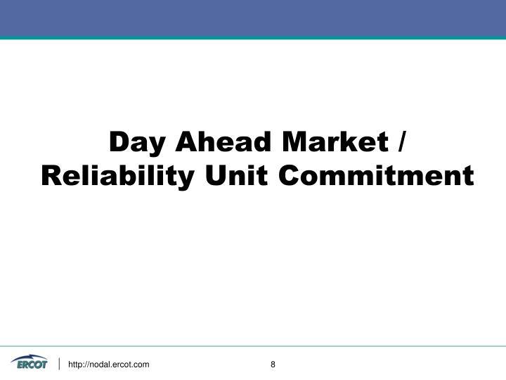 Day Ahead Market /