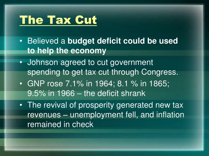 The Tax Cut