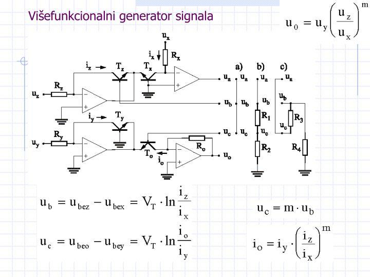 Višefunkcionalni generator signala