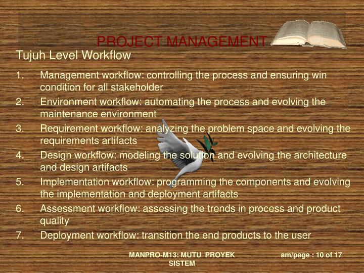 Tujuh Level Workflow