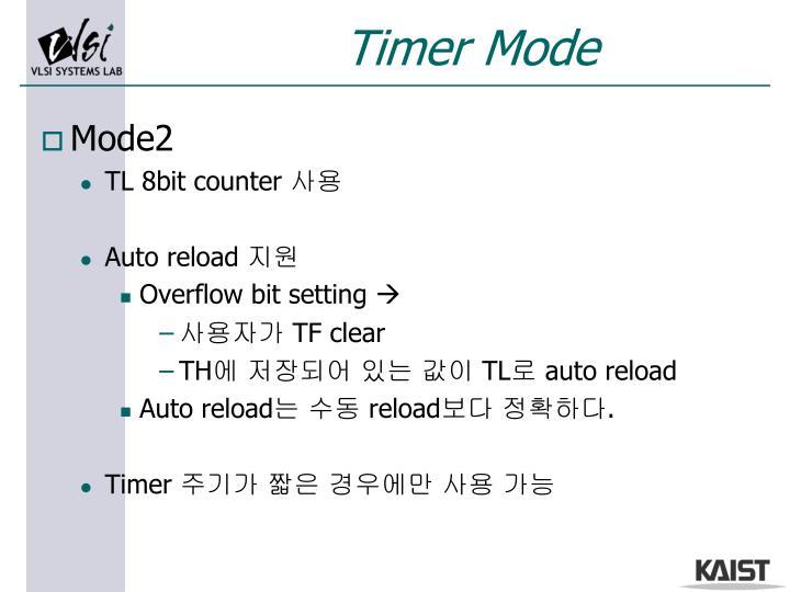 Timer Mode
