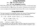 2 stage nelm models