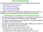 data and methodology