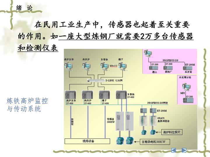 在民用工业生产中,传感器也起着至关重要的作用。如